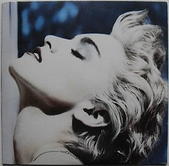 1986 MADONNA True Blue LP record album vinyl HERB RITTS PHOTO (Christian Montone) Tags: music records rock disco dance madonna vinyl pop 1980s madonnaciccone