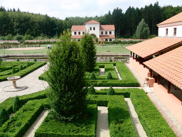 Saarland - römische Villa