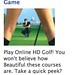 golf according to facebook