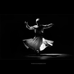 Whirling Dervish (stella-mia) Tags: shadow bw turkey shadows explore antalya sufi lightandshadow dervish whirlingdervish whirlingdervishes belek darvesh explored tanoura rayofthelight