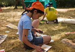 01 Campamento Verano 2010 (016) - Lobatos construyendo