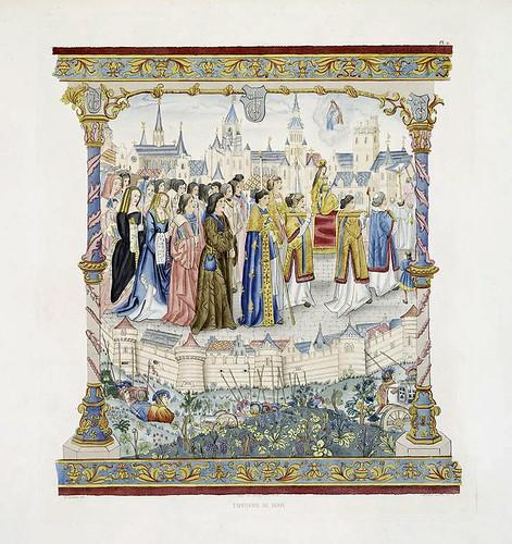004-Tapiceria de Díjon-Les anciennes tapisseries historiées…1838- Achille Jubinal
