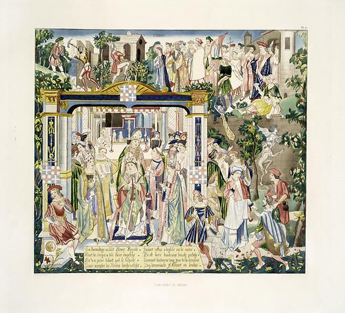 017-Tapiceria de Rheims-Les anciennes tapisseries historiées…1838- Achille Jubinal