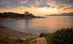 Tramonto sulla Fortezza Vecchia (alecani) Tags: sardegna sunset sea mediterranean mediterraneo tramonto mare sardinia villasimius sundown sardinien fortezza vecchia porticciolo
