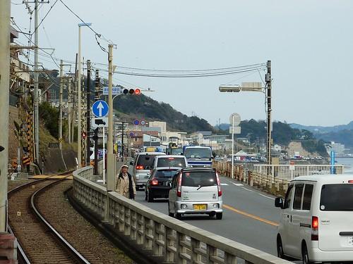 江之電,鎌倉高校前站