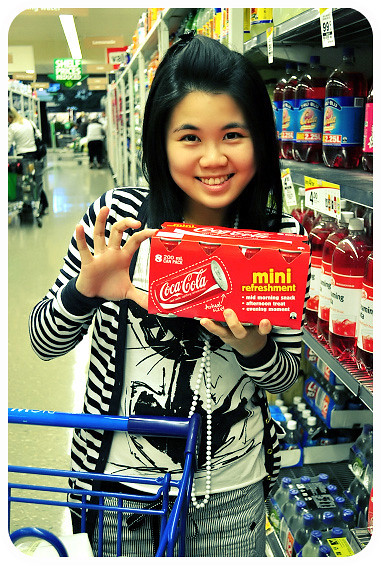 Groceries Shopping at Clifford Gardens: Mini Coca-Cola