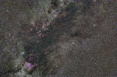 Milky Way in Cygnus (Erich Leeth) Tags: stars nikon space galaxy dust milkyway cygnus starcluster northamericannebula veilnebula d300s
