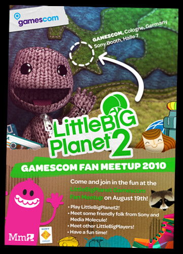 Gamescom: LittleBigPlanet 2 Fan Event