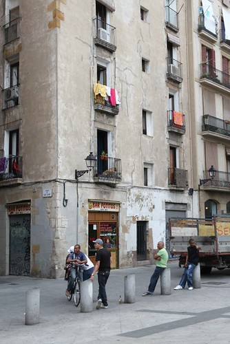 10h12 Barcelona Caldetes052 Plaza Joan Capri