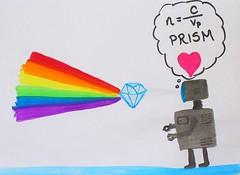 Prism (Katy.Tresedder) Tags: robot rainbow crystal prism refraction tpc tpcu14 tpcu14l4