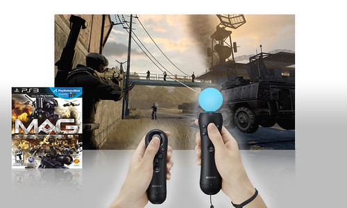 MAG will support PlayStation Move
