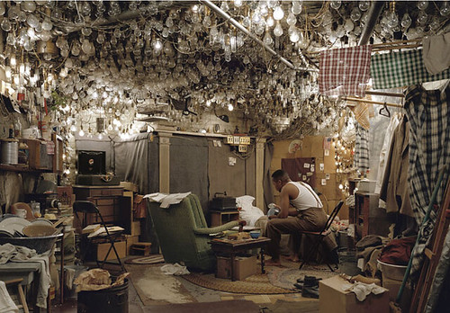 Jeff Wall, After 'Invisible Man' by Ralph Ellison, the Prologue, 1999-2000