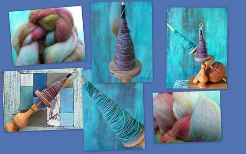 Spindles, Yarn & Fiber