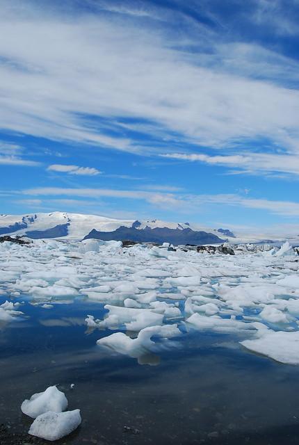 Icebergs en Jökulsárlón