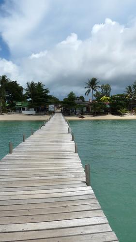 サムイ島 今日のお天気 桟橋から