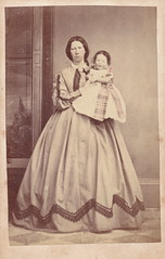 Geelong Mother and Daughter (LJMcK) Tags: vintage child daughter victorian mother australia victoria norton cdv geelong