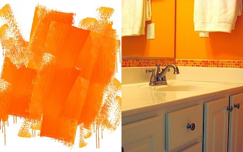 Bright Orange Paint Color