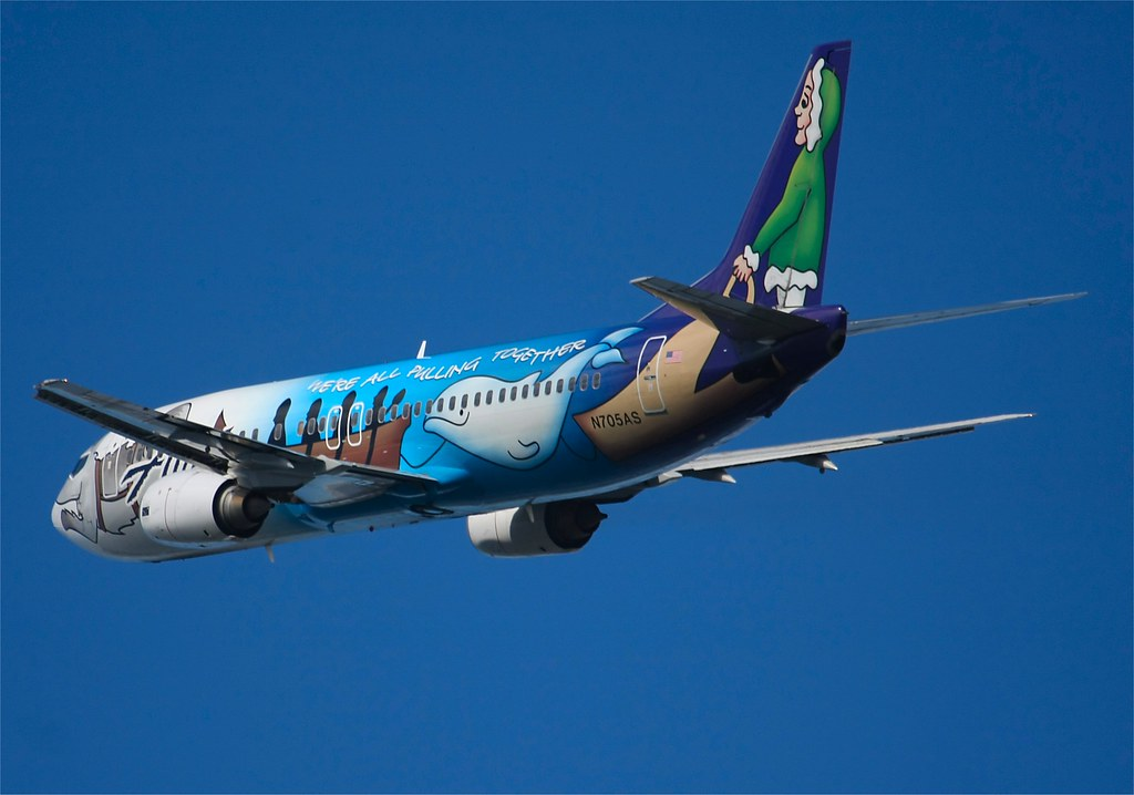 Alaskan Airlines  Boeing 737  N705AS