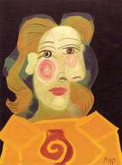 Pablo Picasso - Head of Woman (Dora Maar) at Guggenheim Museum New York (mbell1975) Tags: new york portrait woman usa ny art museum painting us gallery museu head manhattan pablo musée dora musee m picasso guggenheim museo muzeum maar müze museumuseum