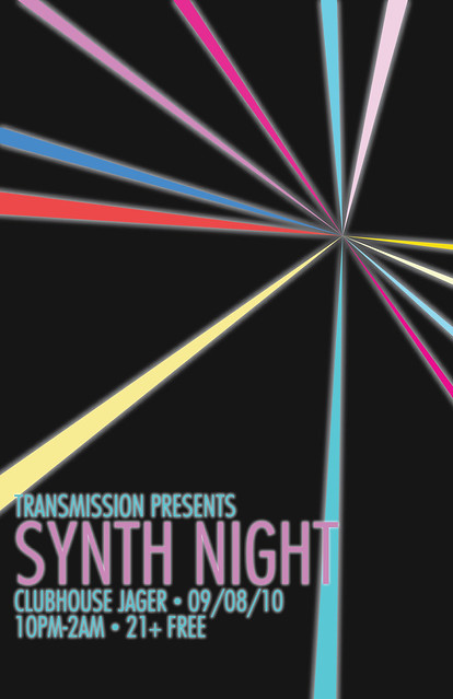 TRANSMISSION- Synth Night