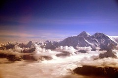 top of the world -EVEREST (evamathemat) Tags: nepal clouds eva air mount himalaya everest topoftheworld nikond300 evamathemat