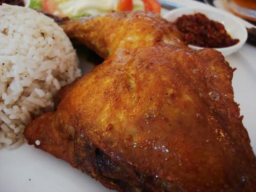 Andes BYO - crisp chicken
