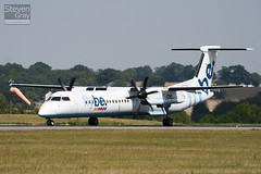 G-JECY - 4157 - FlyBe - De Havilliand Canada DHC-8-402Q Dash 8 - Luton - 100816 - Steven Gray - IMG_1443