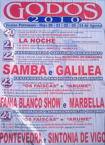 Caldas de Reis - Godos 2010 - cartel