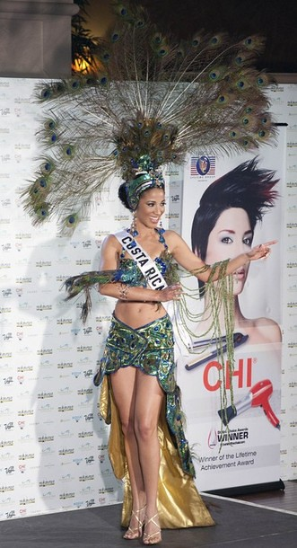 National Costume of Miss Costa Rica