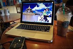 Berry | Apple | Coffee | I Love it!! (burhan.fadzil) Tags: apple airport blackberry starbucks pro kualalumpur airasia macbook lcct bold9000