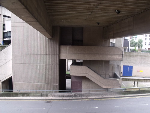 Paradise Place and Paradise Circus - concrete staircase