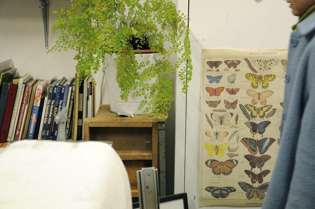 Printmaker's studio