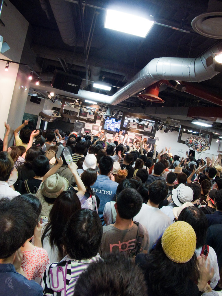 The Last day of HMV shibuya Japan1268