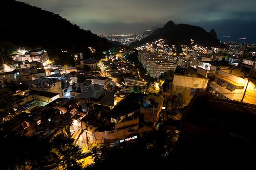 Vista do alto do Morro dos Cabritos - Zona Sul do Rio de Janeiro