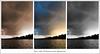 Bury Lake (Richard Hawkes) Tags: blackandwhite lake sepia triptych 2010 rickmansworth aquadrome burylake