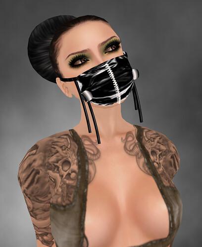 +Calamity+ Surgical Fetish Mask
