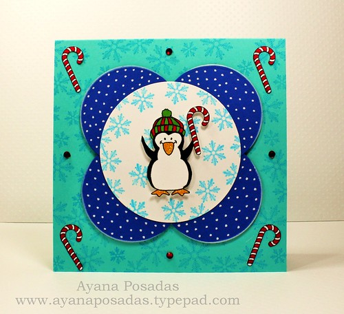 Penguin Sketch Card