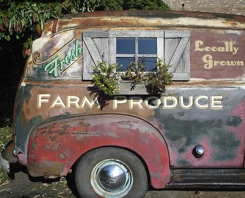 Farm Produce Truck