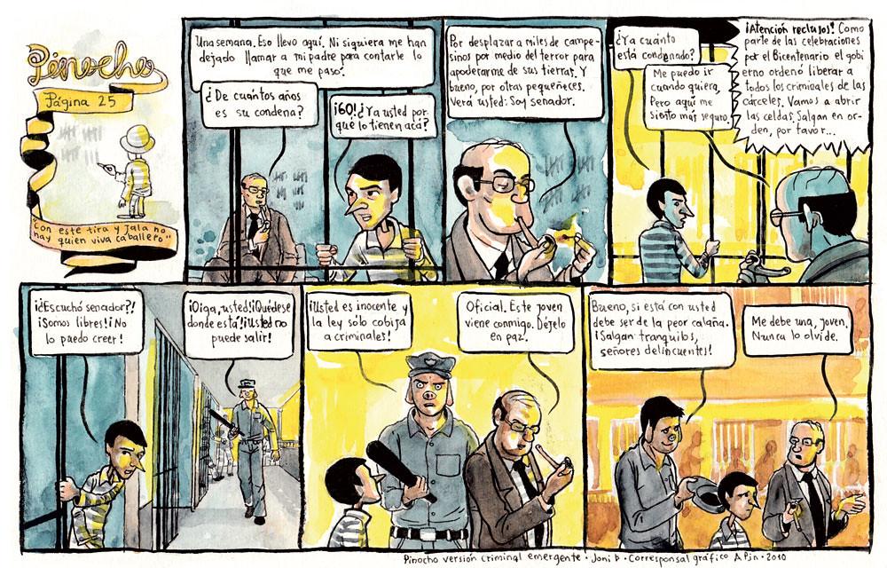 PÁGINA 25: CON ESTE TIRA Y JALA NO HAY QUIEN VIVA CABALLERO