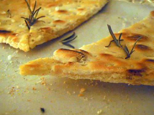 Yeastless rosemary  focaccia