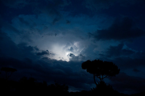 Temporale in Versilia - Storm & Lightning by night