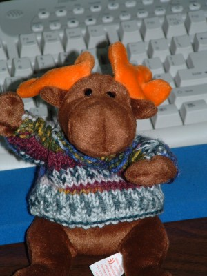 if you knit a moose a sweater...