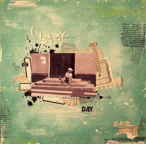 August 24/31 - {lazy day}
