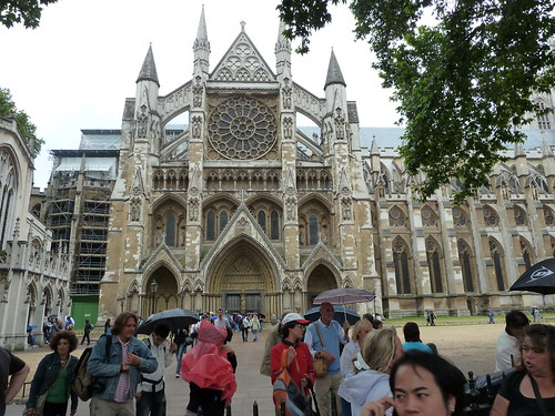 Entrance to Westminster Abbey