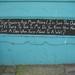 Existentialist chalkboard