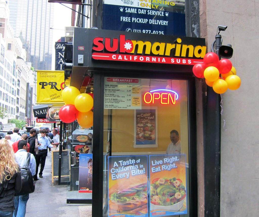 Submarina Store Front
