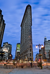 Flatiron Building - New York (DiGitALGoLD) Tags: new york city nyc building 30 night nikon iron long exposure shot flat manhattan horizon tripod event second nikkor antony f28 flatiron gitzo d3 2470mm 2470 gromley