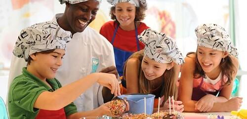 Culinary Kids Vacationing at Atlantis Paradise Island 2