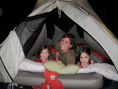 3 Girls in a Tent