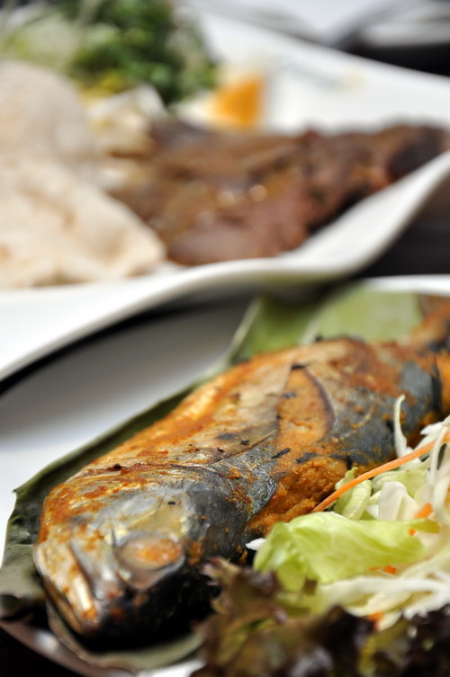 Grill Fish for Nasi Kerabu